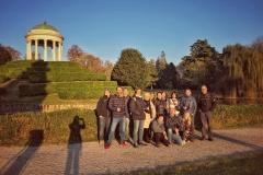 Foto di gruppo a parco Querini